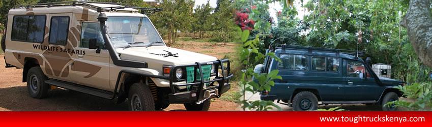 Tough trucks kenya4x4 car hirerent 4x4 in kenyakenya 4x4 car & Kenya Tanzania selfdrive 4X4 Landrover/landcruiser/Hi-Lux with ...